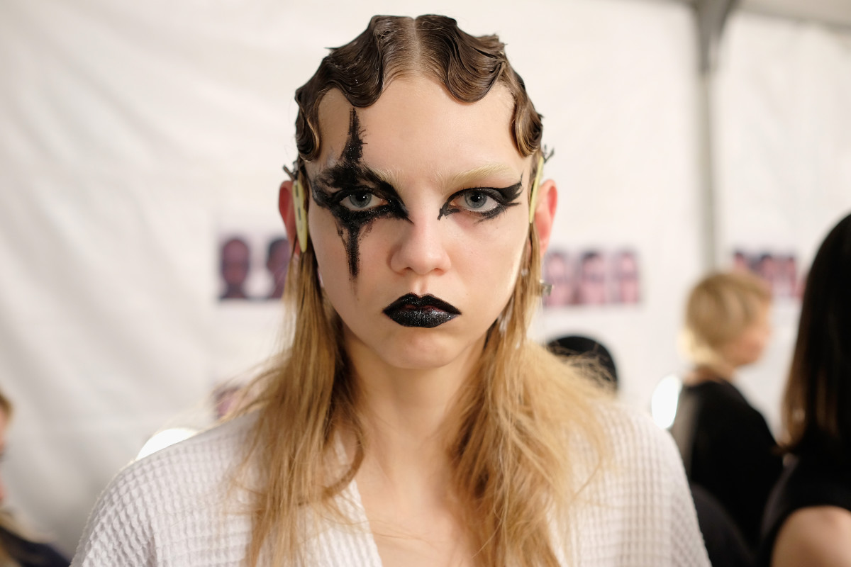 Molly Bair backstage at Marc Jacobs. Photo: Dimitrios Kambouris/Getty Images