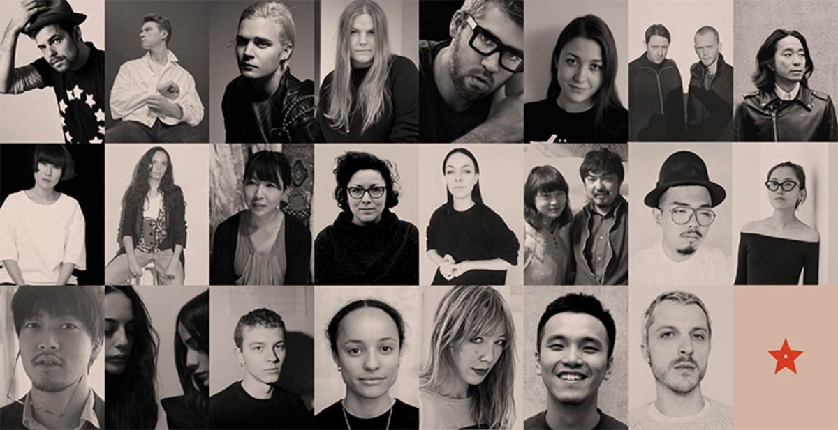 The 23 designers from the LVMH shortlist. Photo: LVMH