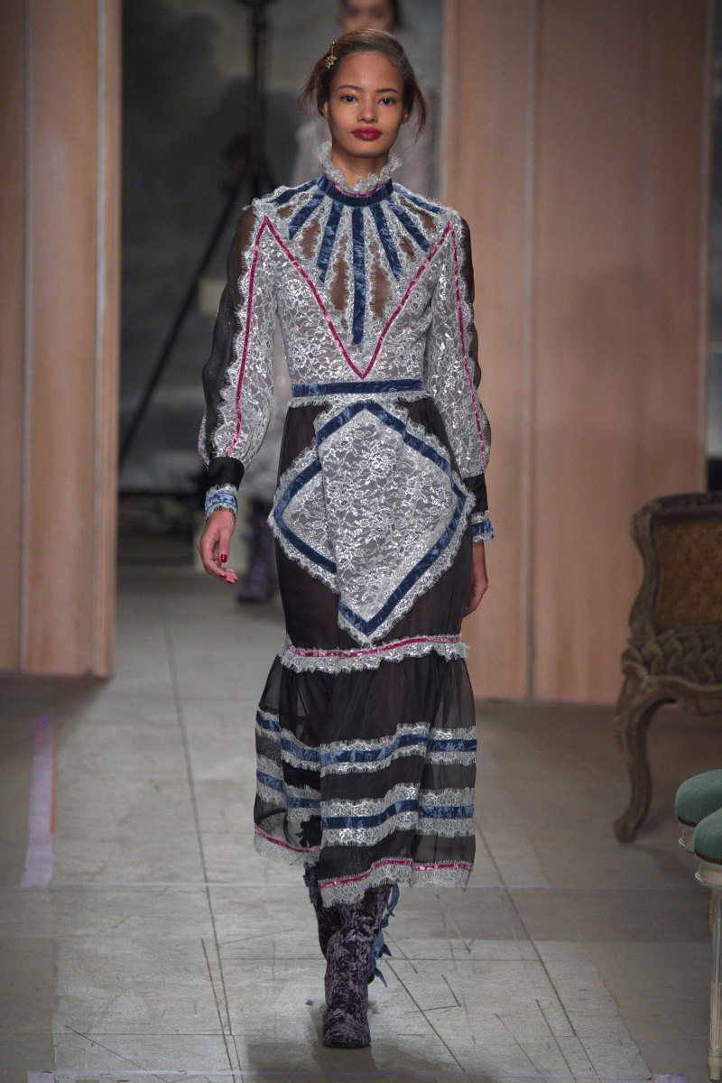 A look from Erdem's fall 2016 show. Photo: Imaxtree