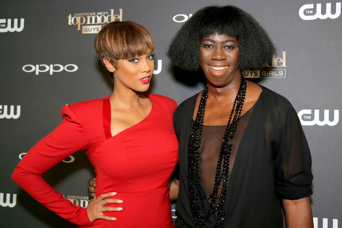 """Tyra Banks and judge J. Alexander attend the """"America's Next Top Model"""" Cycle 22 premiere party in July 2015 in West Hollywood, Calif. Photo: Chelsea Lauren/Getty Images"""