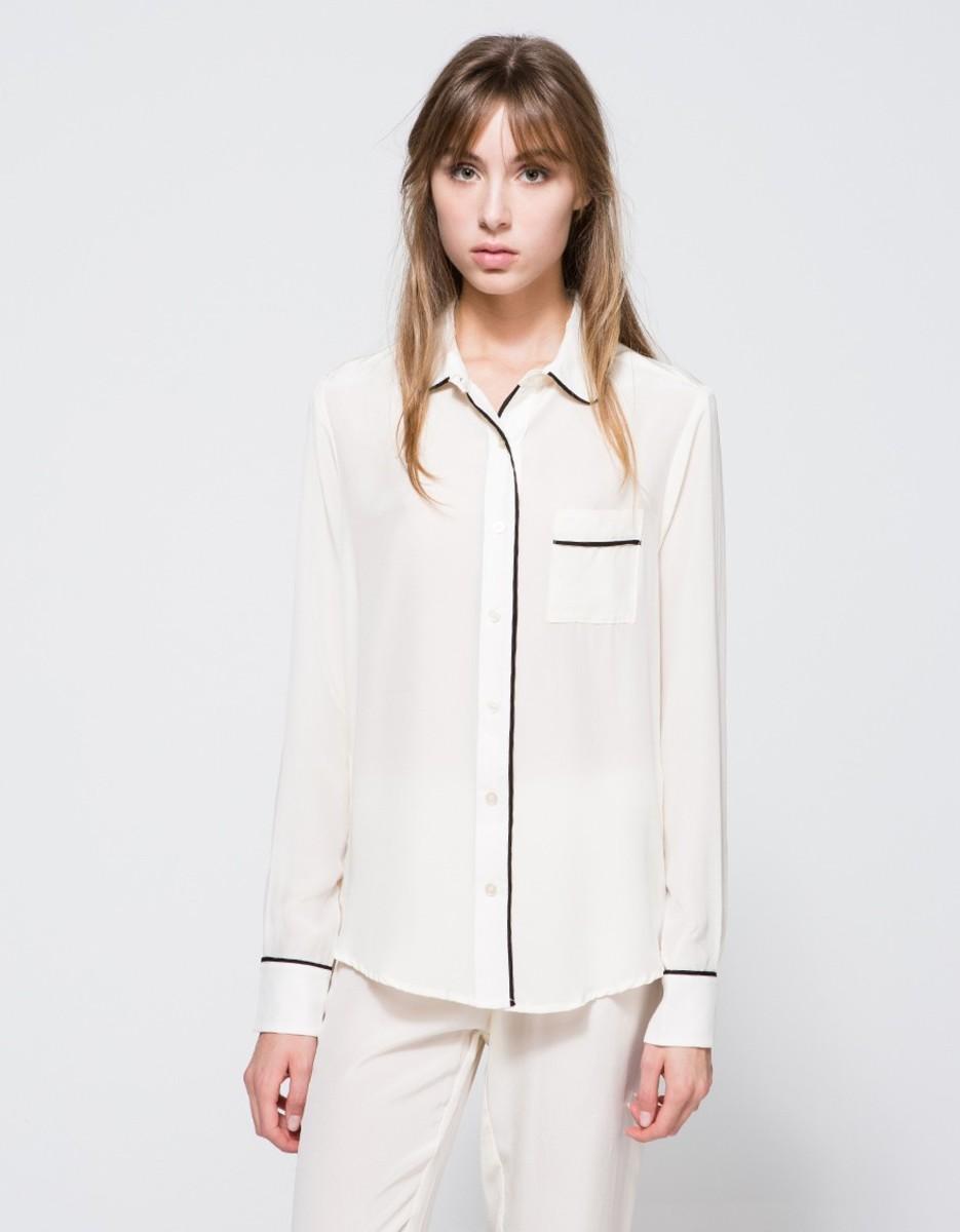 "Maison du Soir ""Sophia"" shirt, $187, available at NeedSupply.com."