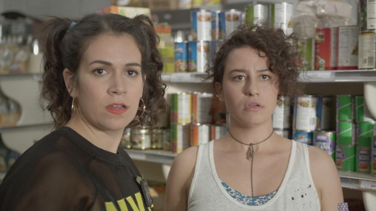Abbi as Ilana, and Ilana as Abbi. Photo: Comedy Central