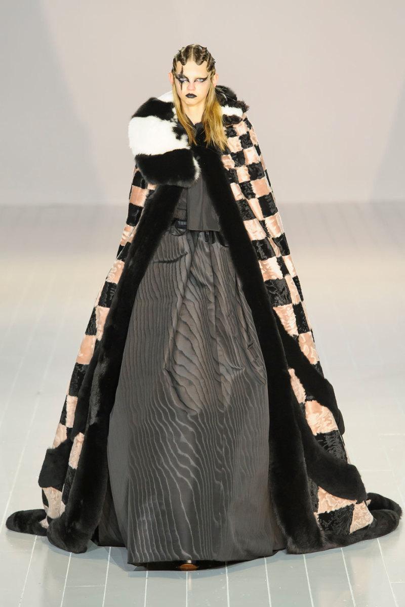 Marc Jacobs cloak. Photo: Imaxtree
