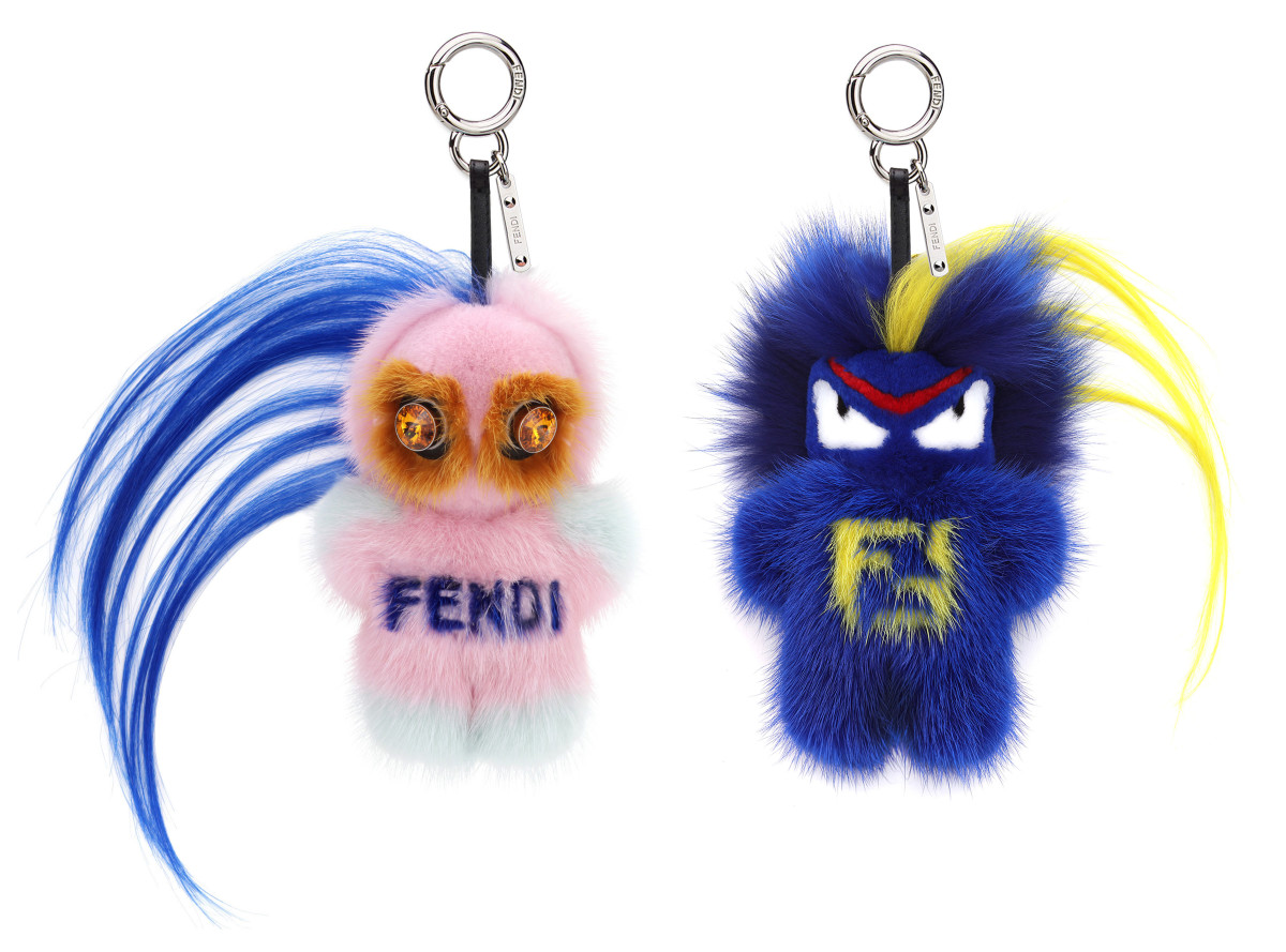 Fendirumi charms. Photo: Fendi