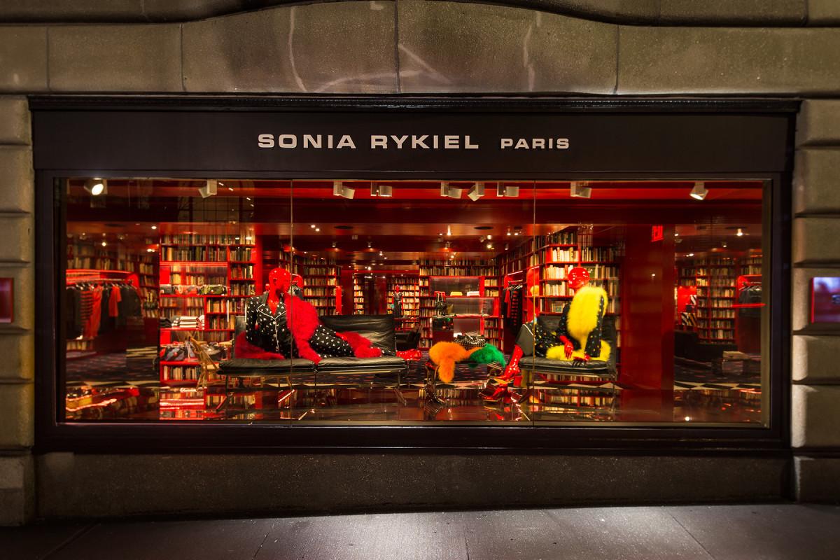 An exterior view of the Sonia Rykiel store on Madison Avenue in New York City. Photo: Sonia Rykiel