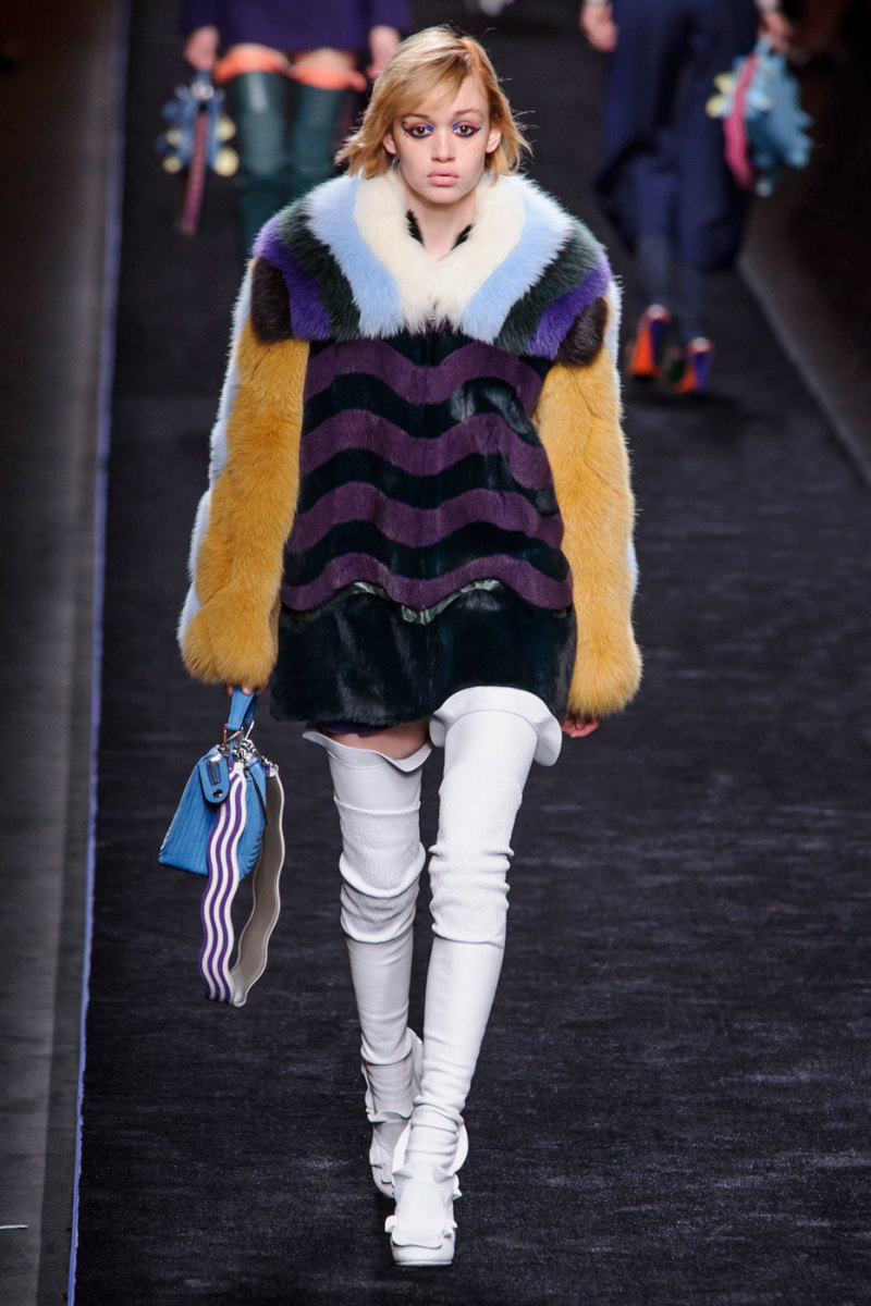 This Fendi coat, though. Photo: Imaxtree