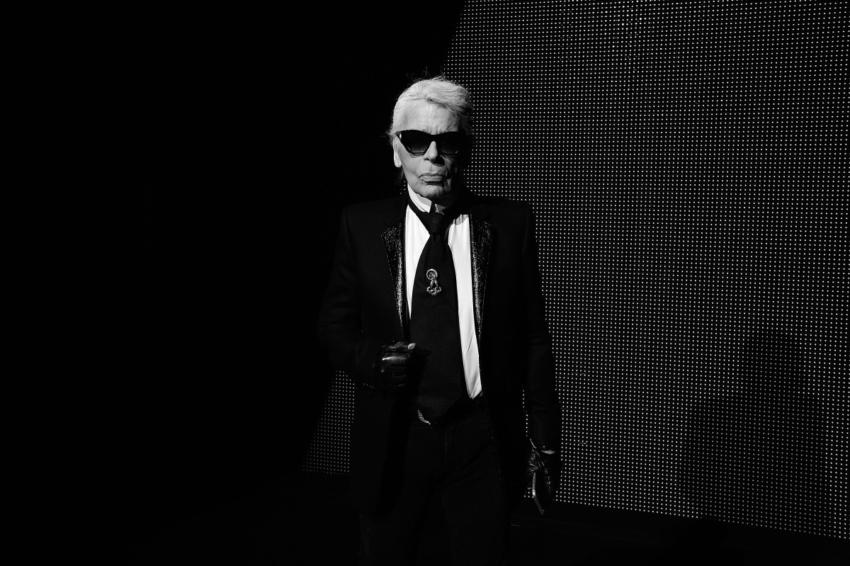 Karl Lagerfeld. Photo: Pascal Le Segretain