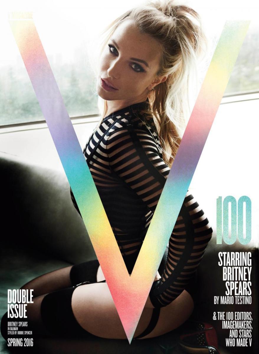 Image result for britney V magazine