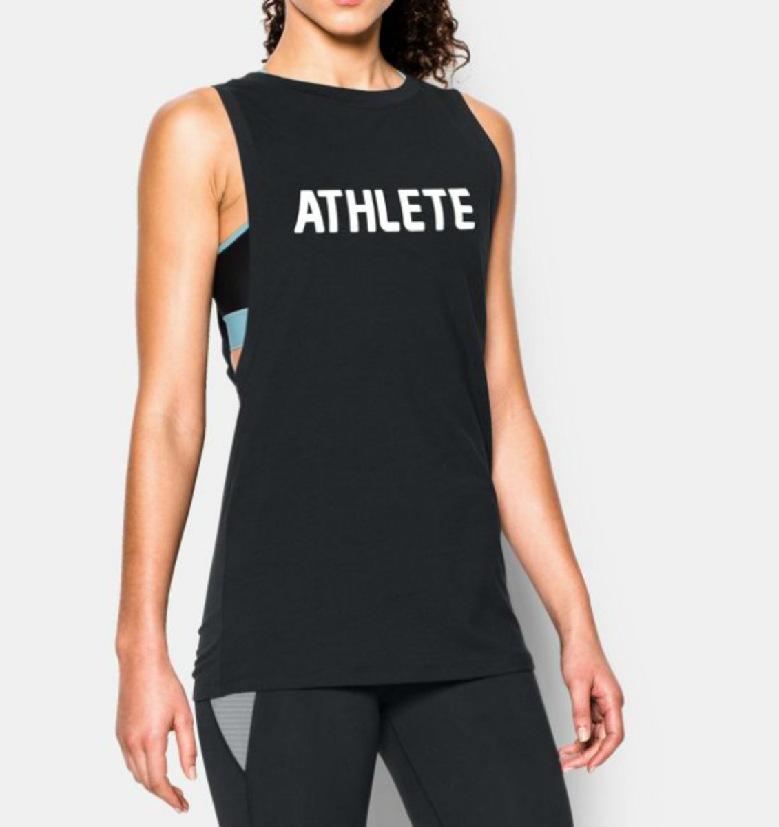 Under Armour Athlete Muscle Tank, $39.99, available at Under Armour.