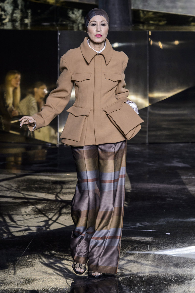 Pat Cleveland in a look from H&M's fall 2016 collection. Photo: Imaxtree