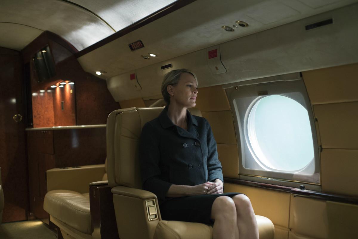 Underwood in season four. Photo: Netflix