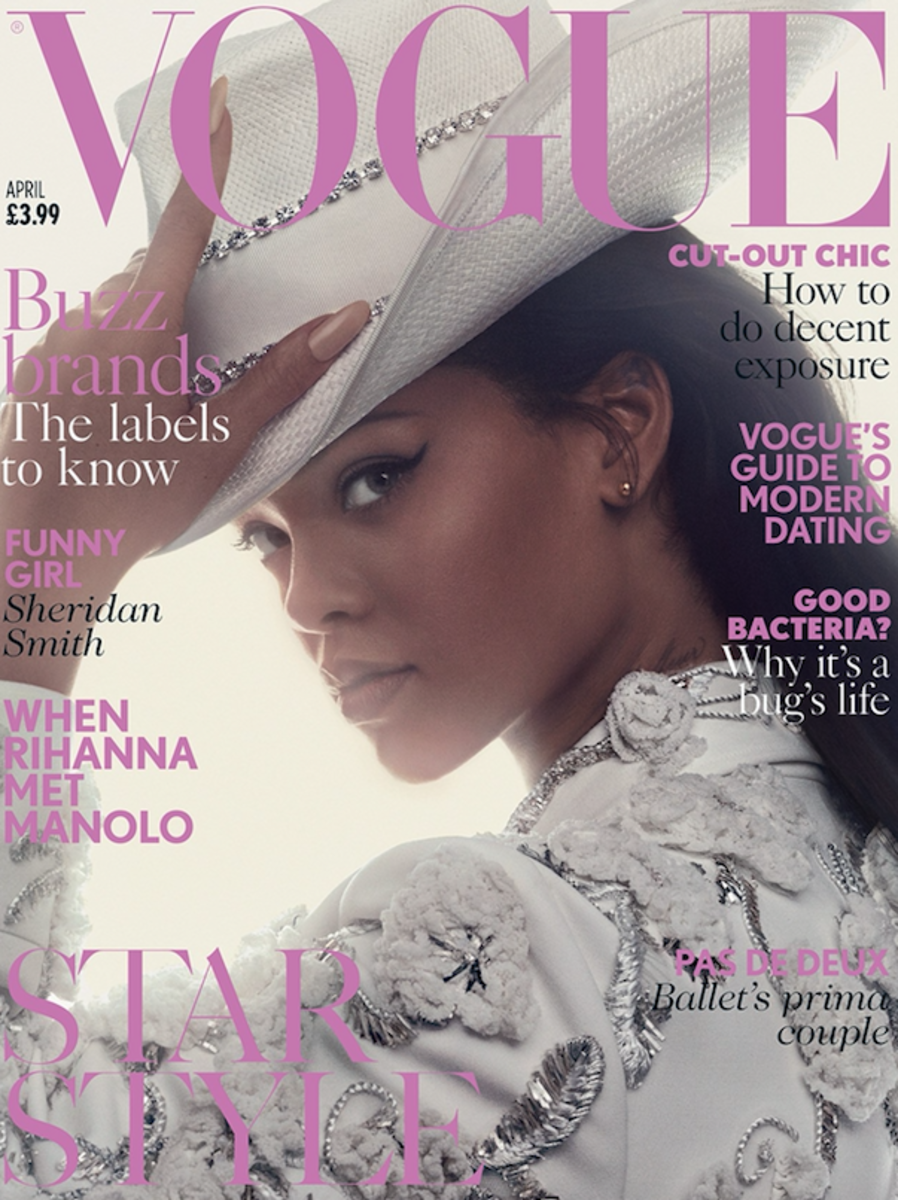 Rihanna for 'Vogue' UK. Photo: Craig McDean