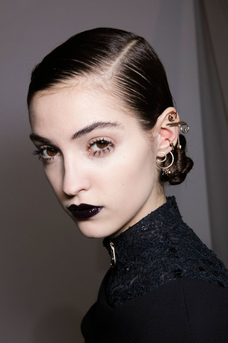 The look at Dior. Photo: Imaxtree