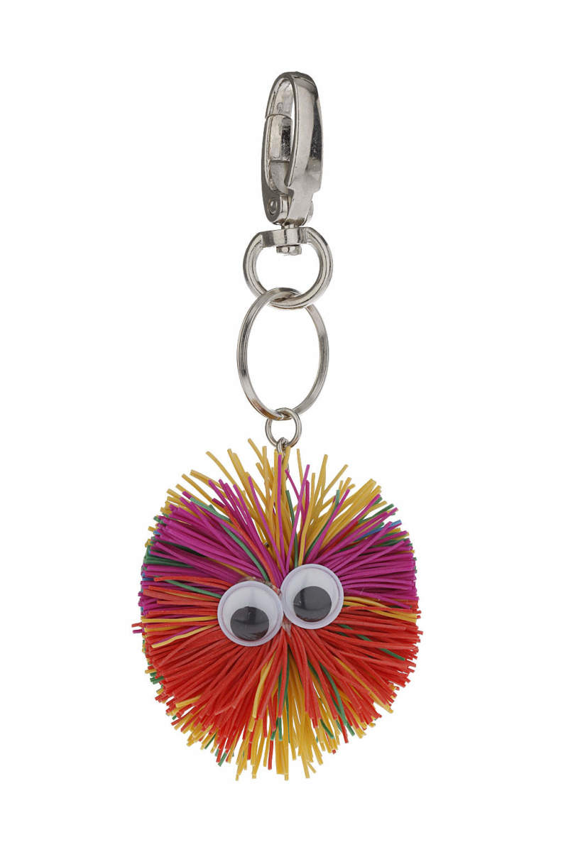 Multi-Coloured Spikey Keyring. $9, available at Topshop.