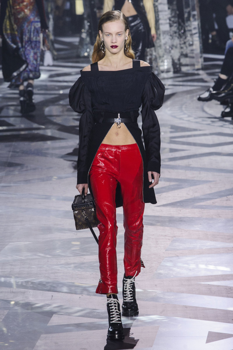 A look from Louis Vuitton's fall 2016 collection. Photo: Imaxtree