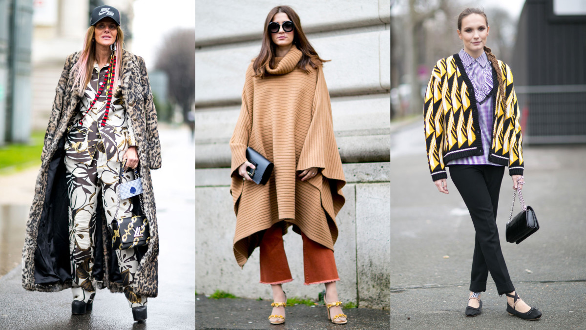 On the street of Paris Fashion Week. Photos: Imaxtree