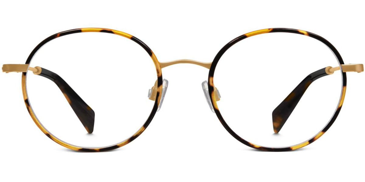 Warby Parker Milton eyeglasses in tiger tortoise, $195, available at Warby Parker.