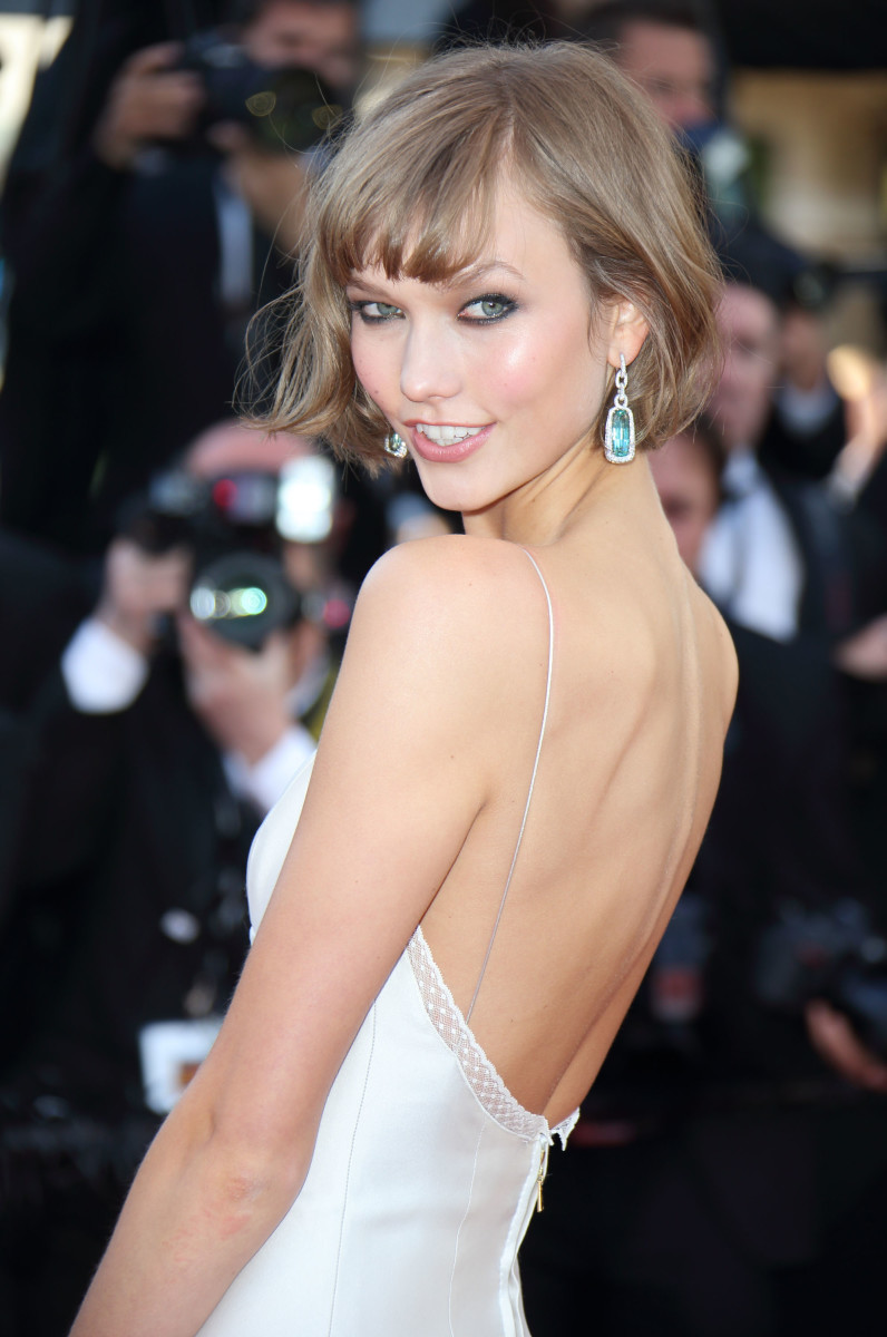 Karlie Kloss at The 66th Annual Cannes Film Festival on May 24, 2013. Photo: Mike Marsland/WireImage/Getty Images