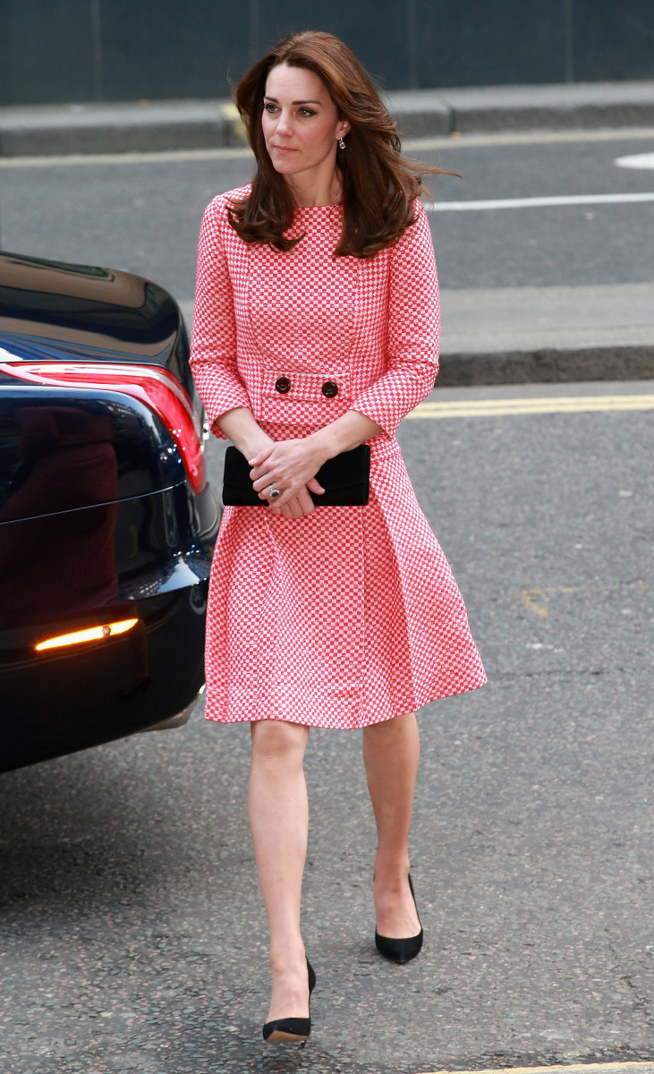 Kate Middleton Pulled a Full Jackie Kennedy in Red and White