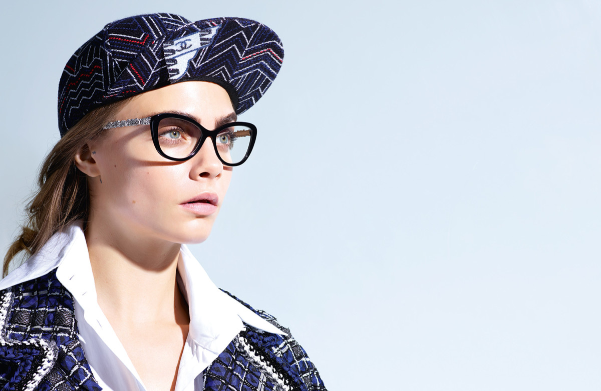 Chanel spring/summer 2016 eyewear campaign. Photo: Chanel