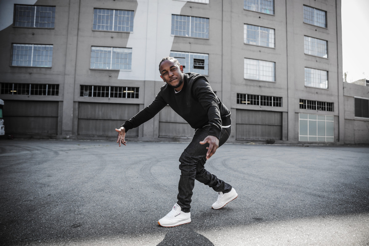 Kendrick Lamar for Reebok. Photo: Reebok