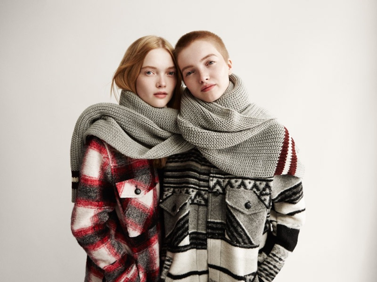 May and Ruth Bell in the 2015 Forever21 holiday campaign.