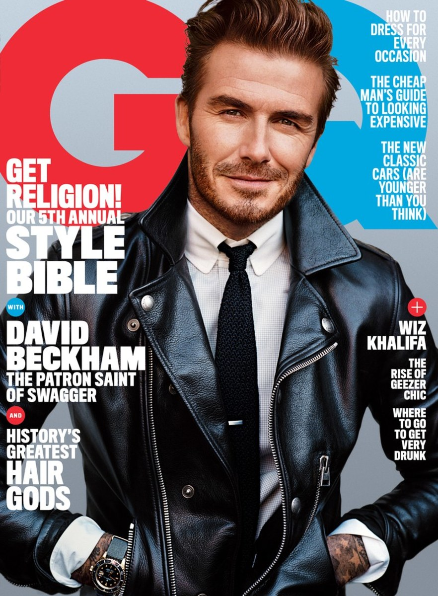 963d49ff1261 David Beckham on  GQ