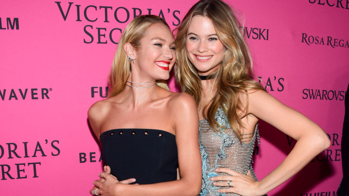 Pregnant Bffs Candice Swanepoel And Behati Prinsloo Are