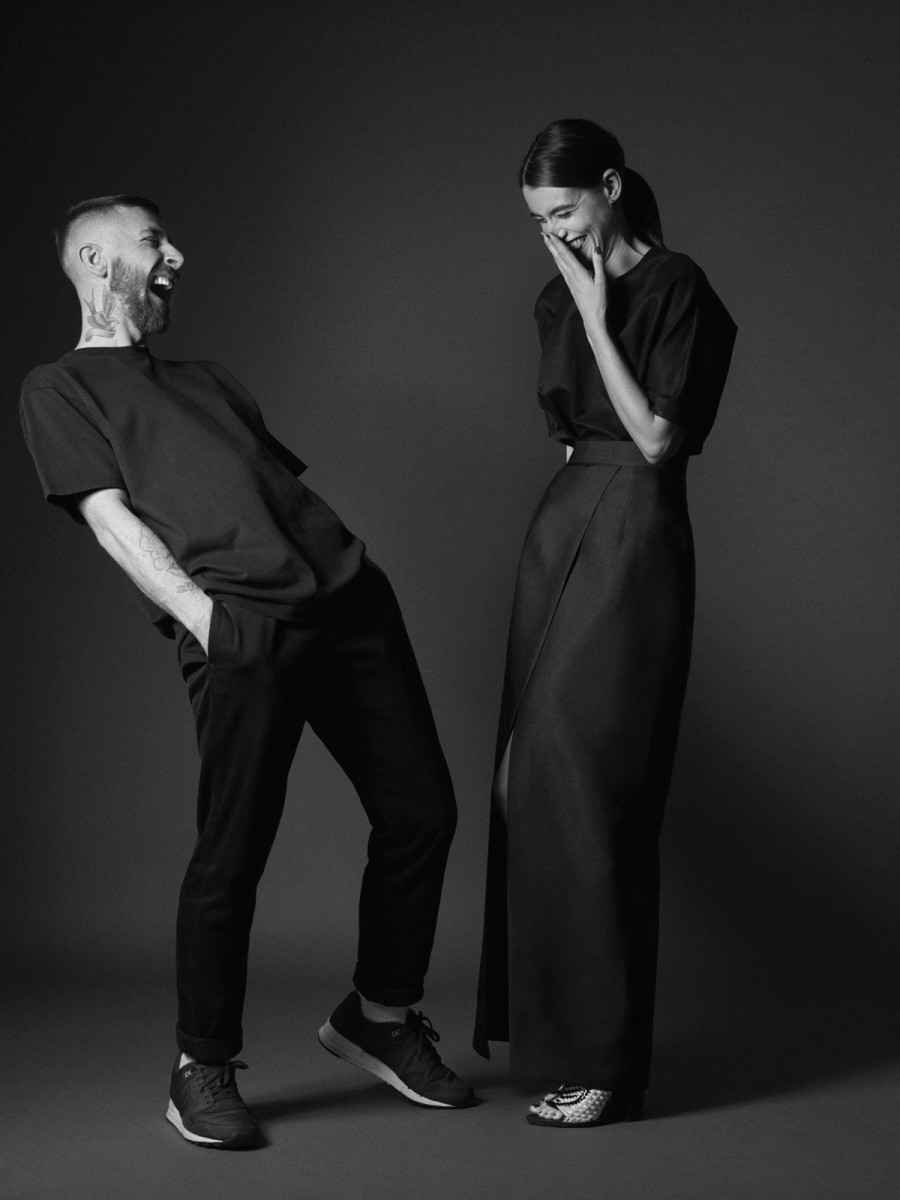 Ryan Holliday-Stevens and Laura Taylor. Photo: Solace London