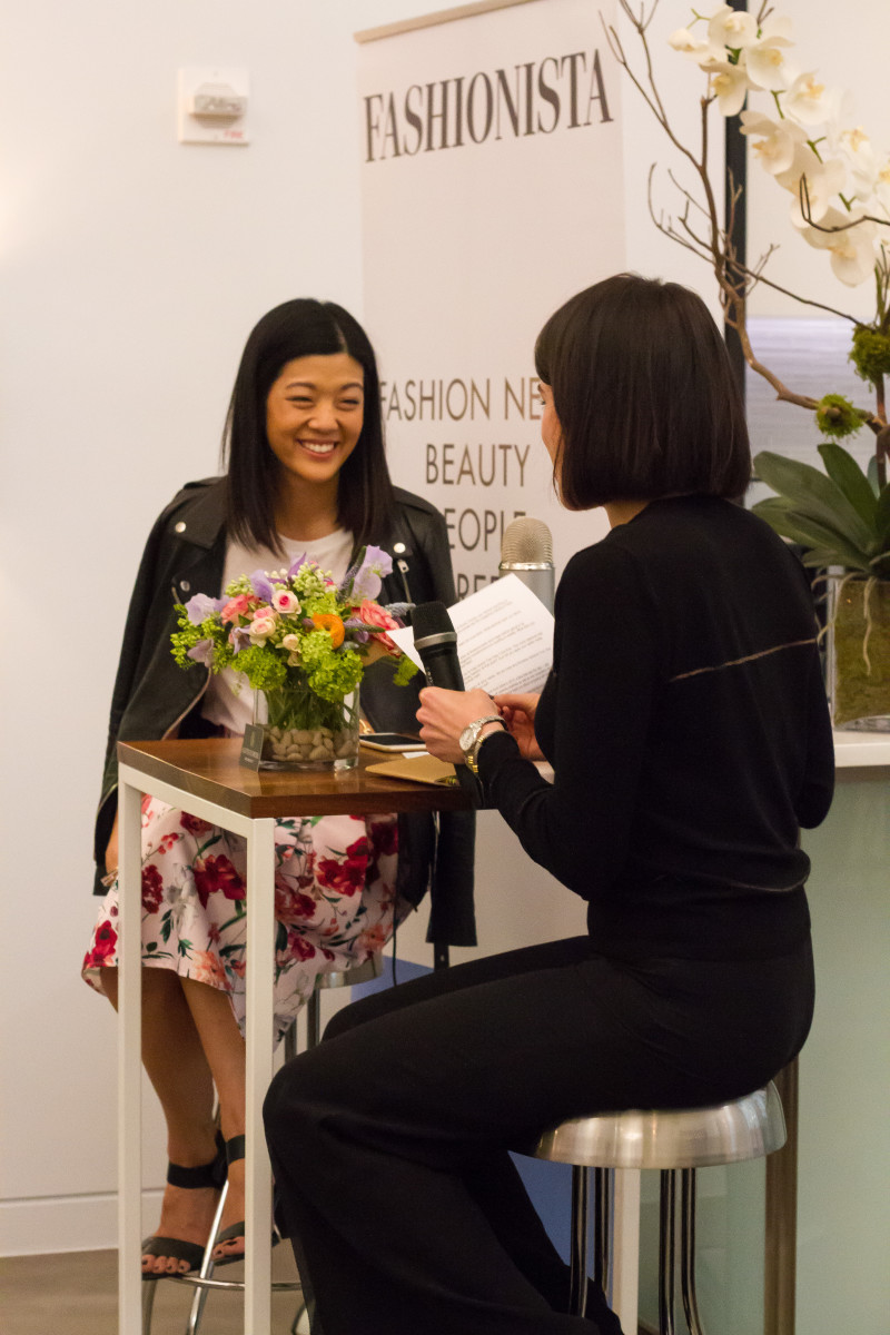 'Allure' Editor-in-Chief Michelle Lee and Chantal Fernandez. Photo: Fashionista