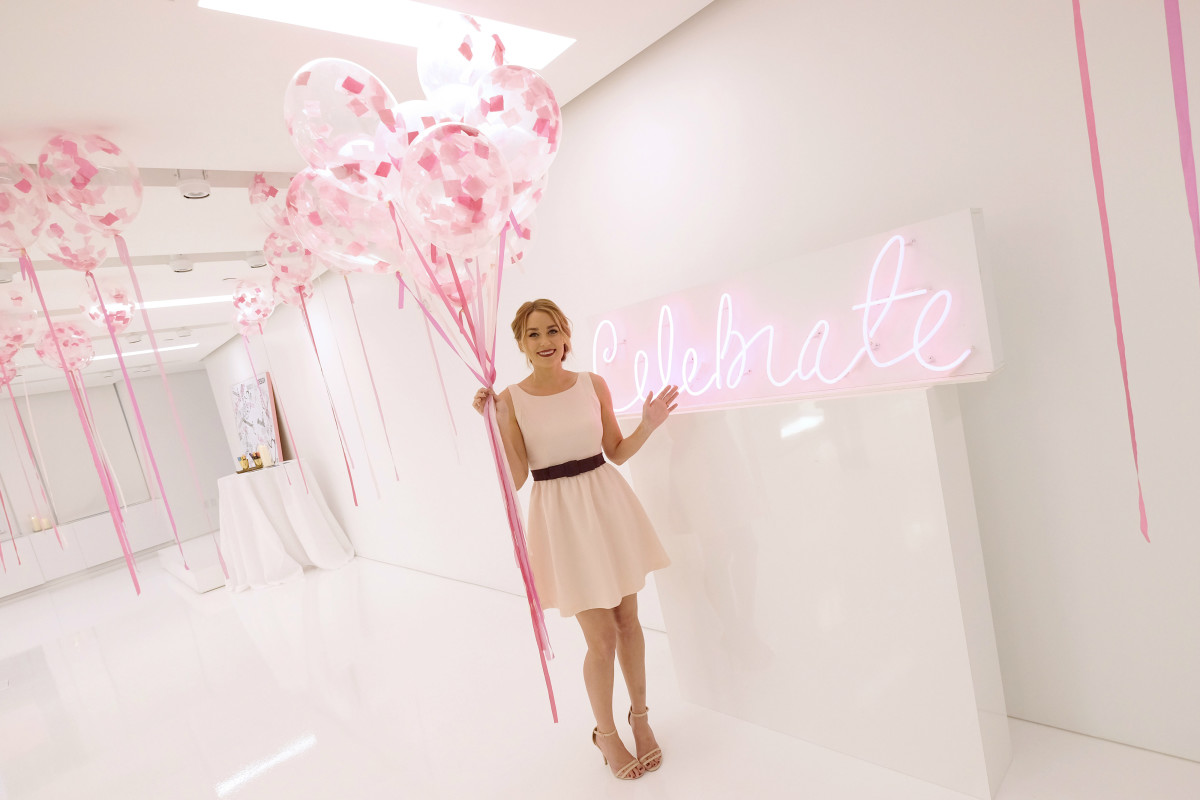 """Lauren Conrad at the launch of """"Celebrate"""" at the Kohl's Showroom in New York City on Wednesday. Photo: Larry Busacca/Getty Images"""