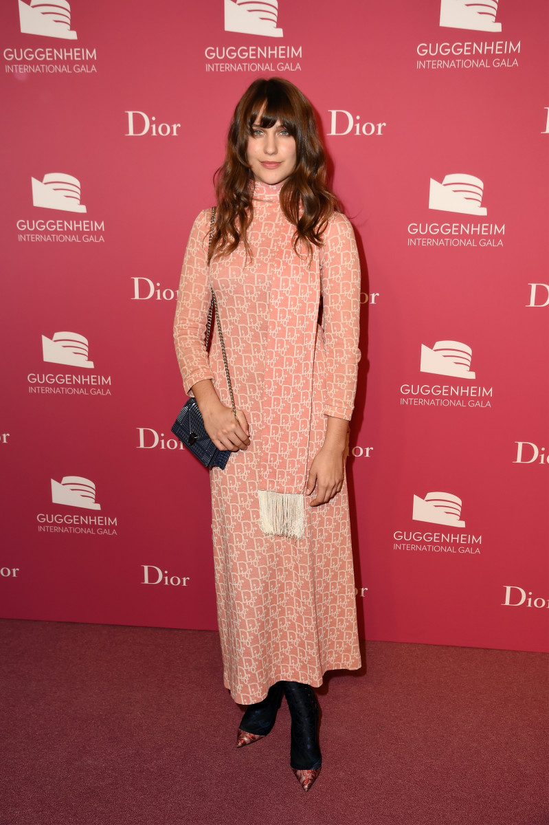 Lola Kirke in Dior. Photo: Nicholas Hunt/Getty Images for Christian Dior