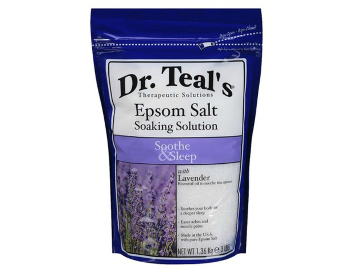 Dr. Teal's Epsom Salt Soaking Solution, $4.89, available at Target.