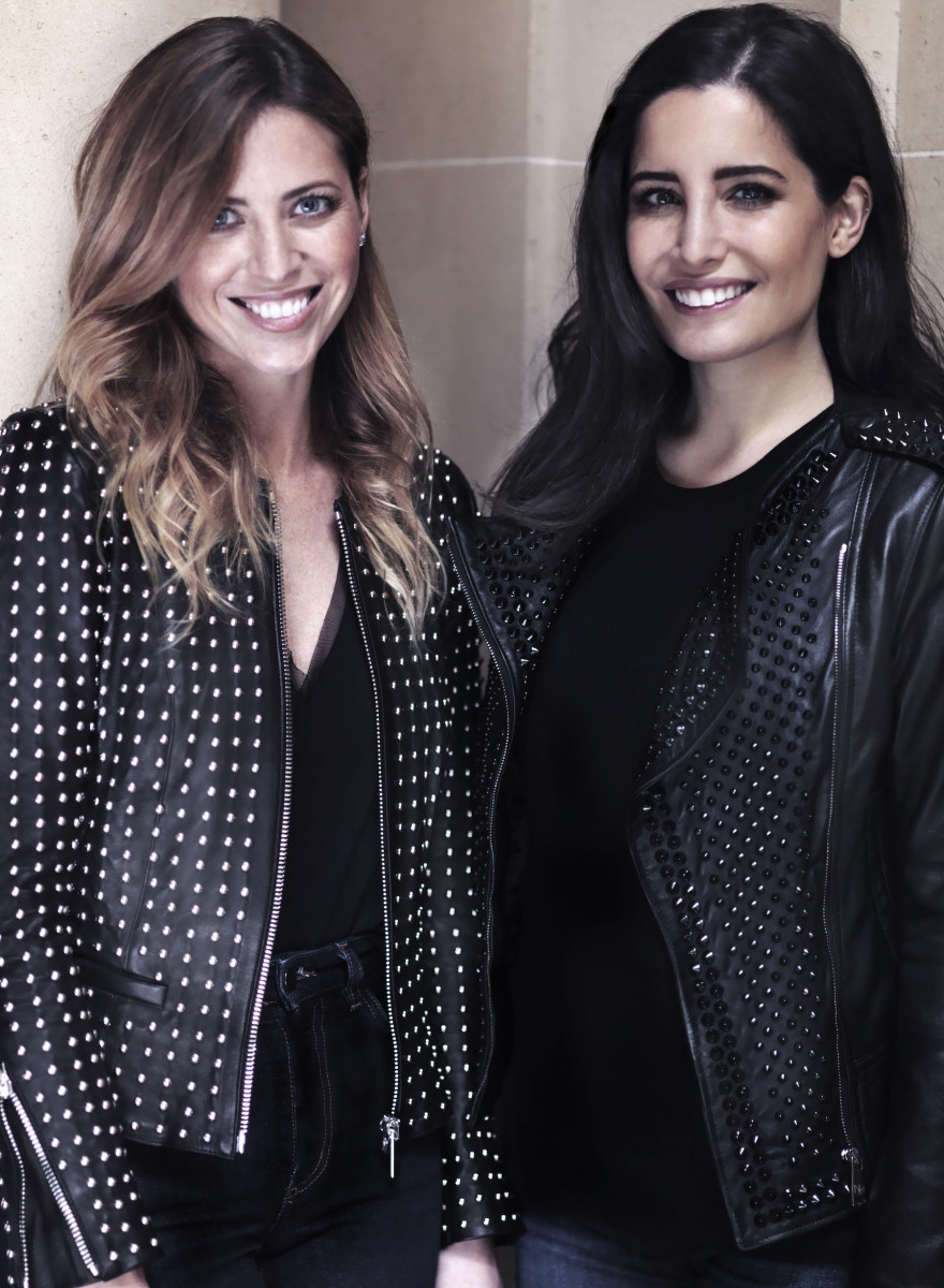 Erin Conry Webb (L) and Nour Hammour (R). Photo: Nour Hammour