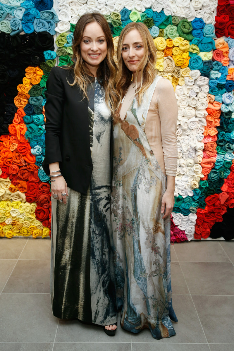 Wilde and Conscious Commerce partner Barbara Burchfield, both in H&M Conscious Exclusive Collection. Photo: Brian Ach/Getty Images
