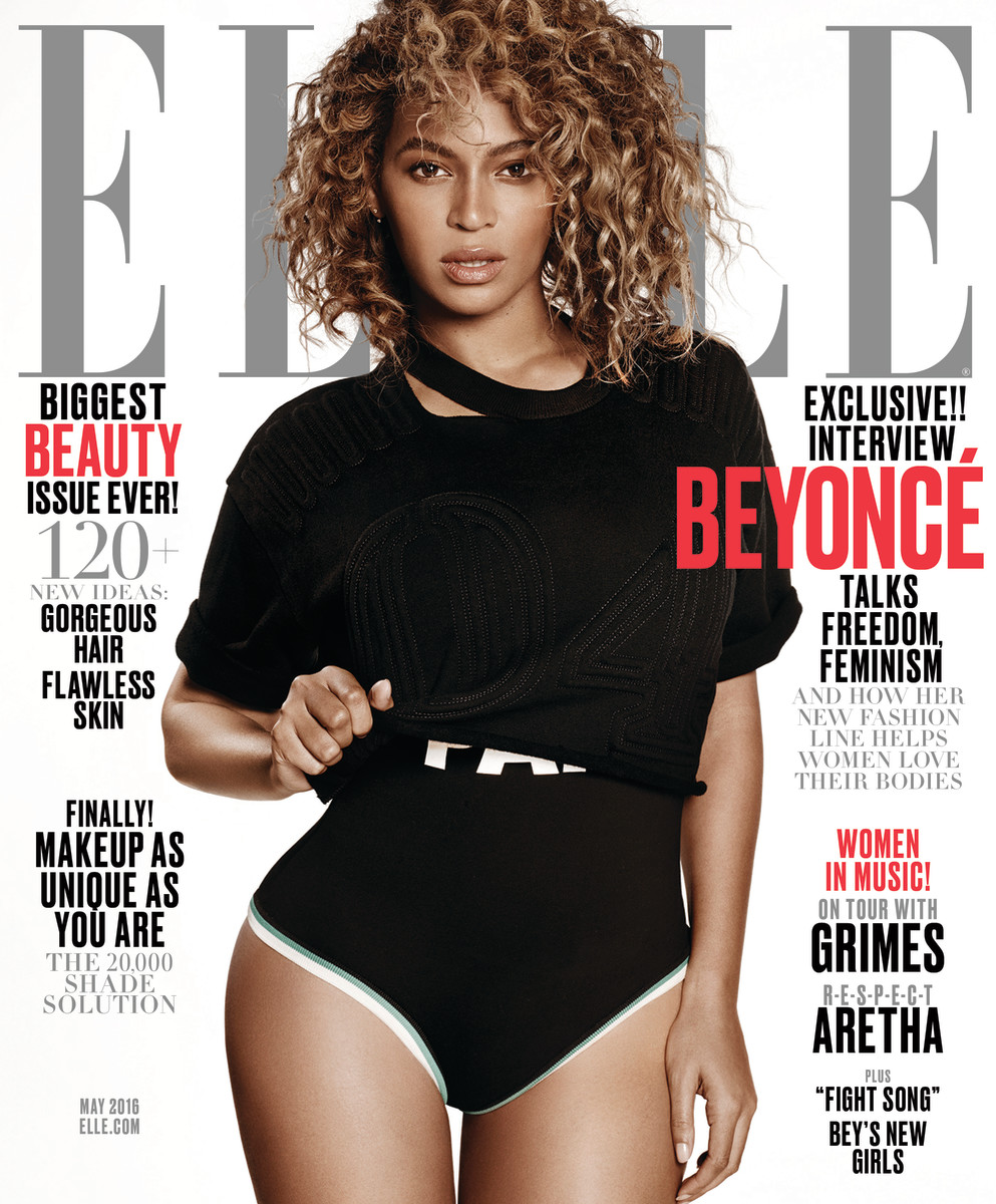 Beyonce's May Elle cover. Photo: Elle