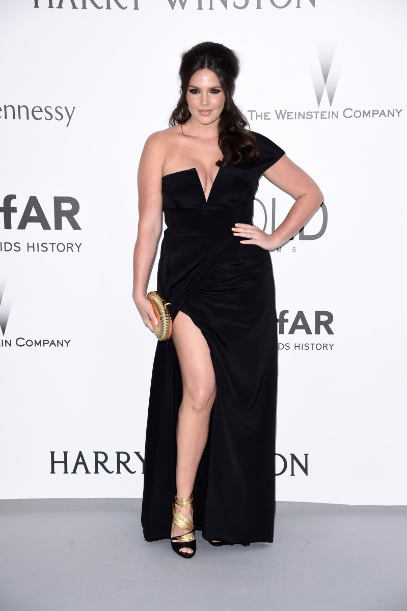 Candice Huffine at amfAR's 22nd Cinema Against AIDS Gala in 2015. Photo: Getty Images