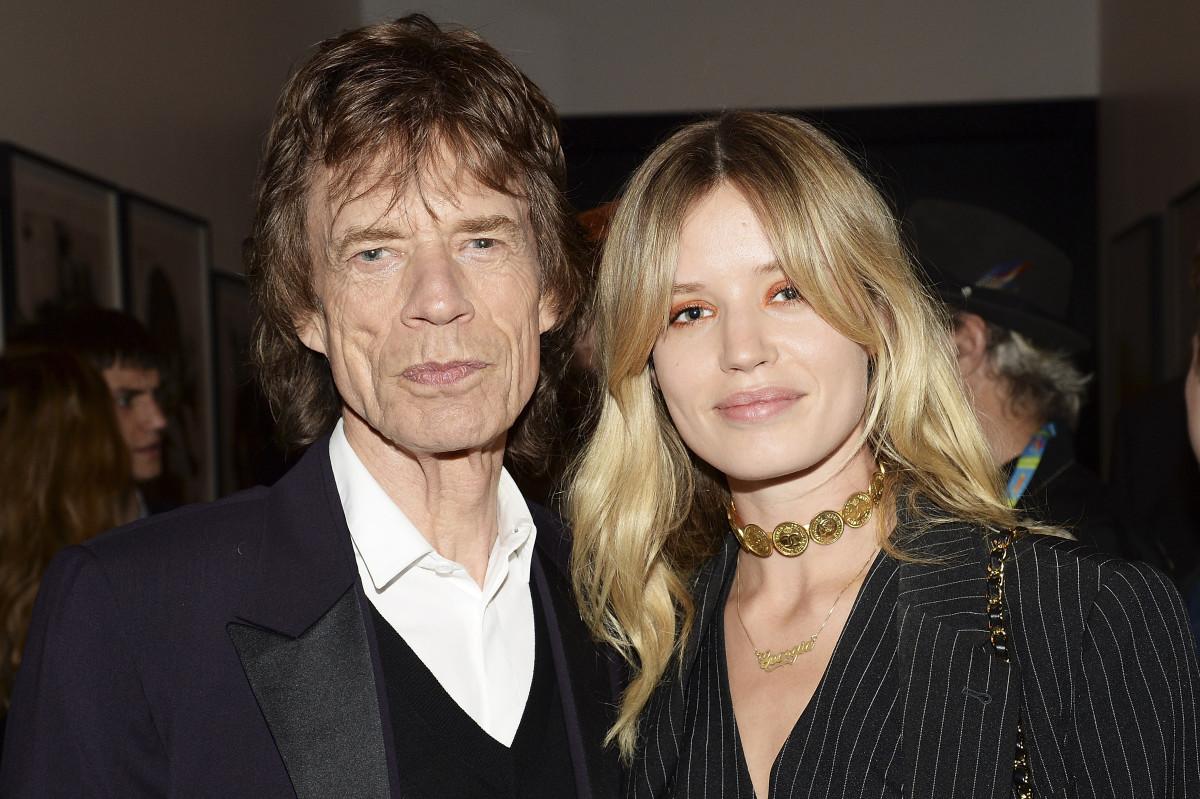 Mick Jagger and Georgia May Jagger. Photo: David J. Hogan/Getty Images
