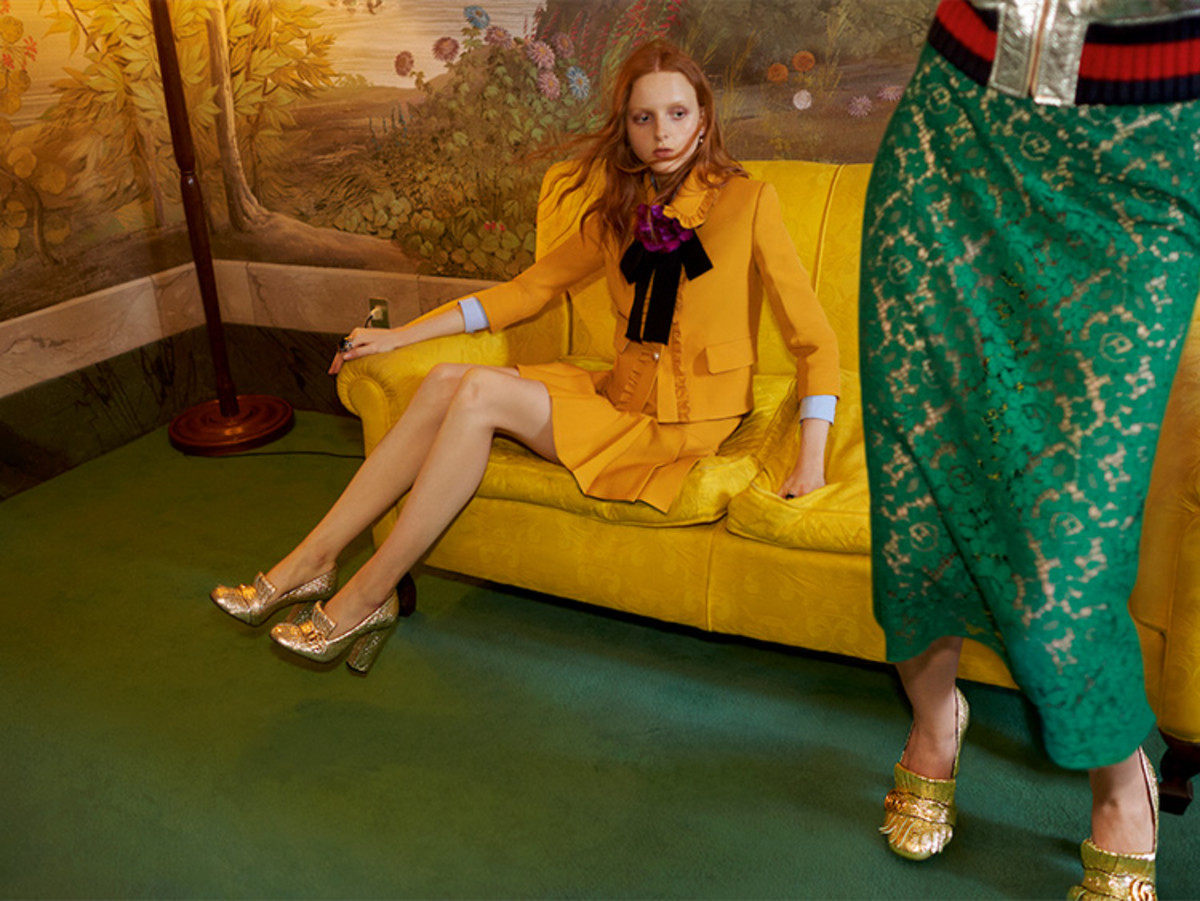 Gucci Is The Latest Luxury Brand To Have An Ad Campaign