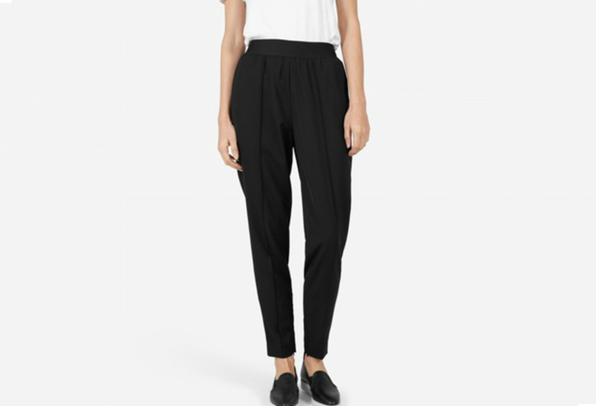 Everlane GoWeave Track Pant in black, $115, available at Everlane.