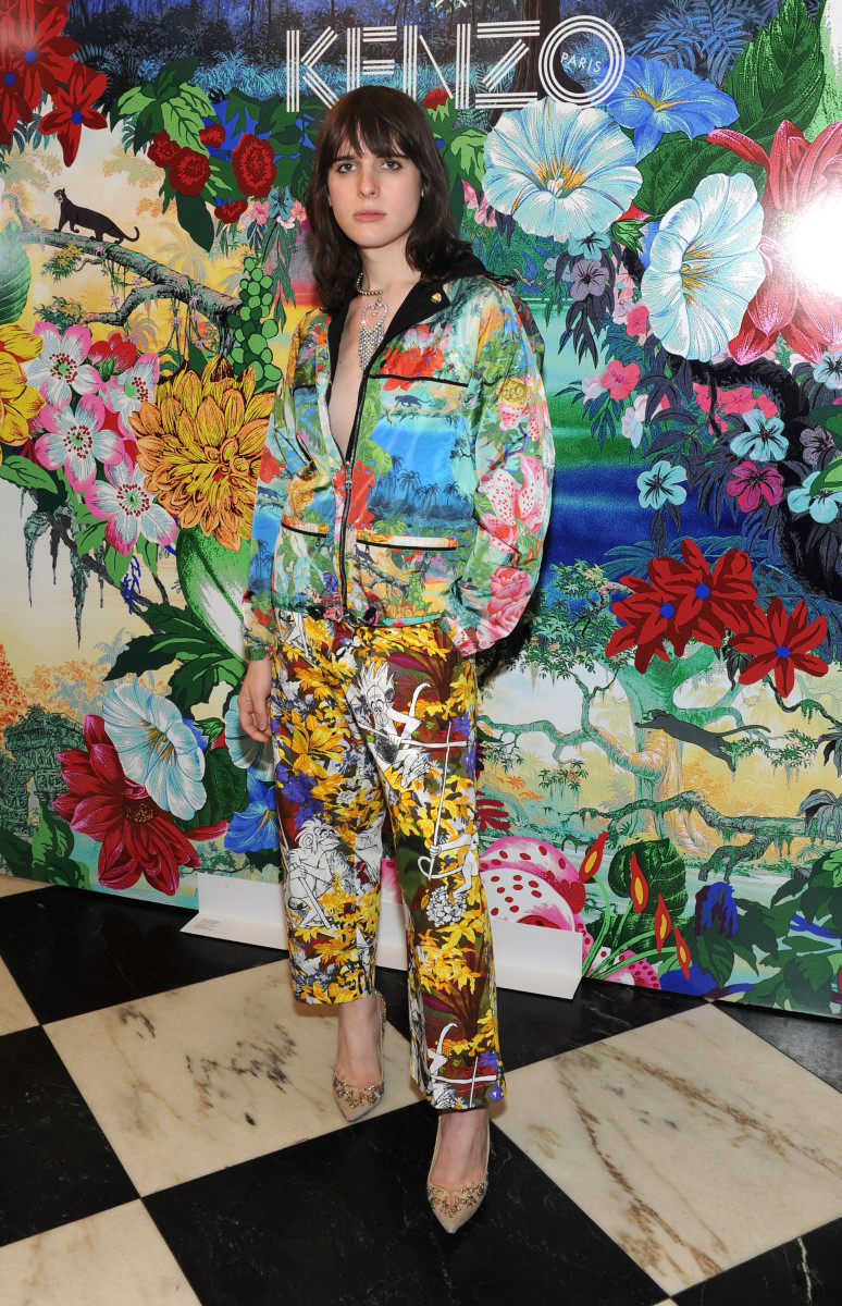 "Hari Nef at the Kenzo x ""The Jungle Book"" launch party. Photo: Craig Barritt/Getty Images"