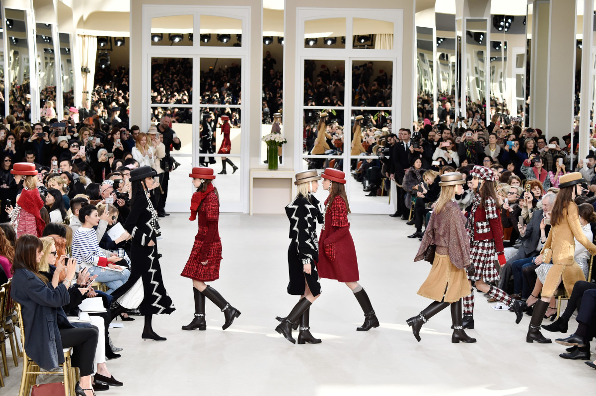 Chanel's fall 2016 show. Photo: Pascal Le Segretain/Getty Images