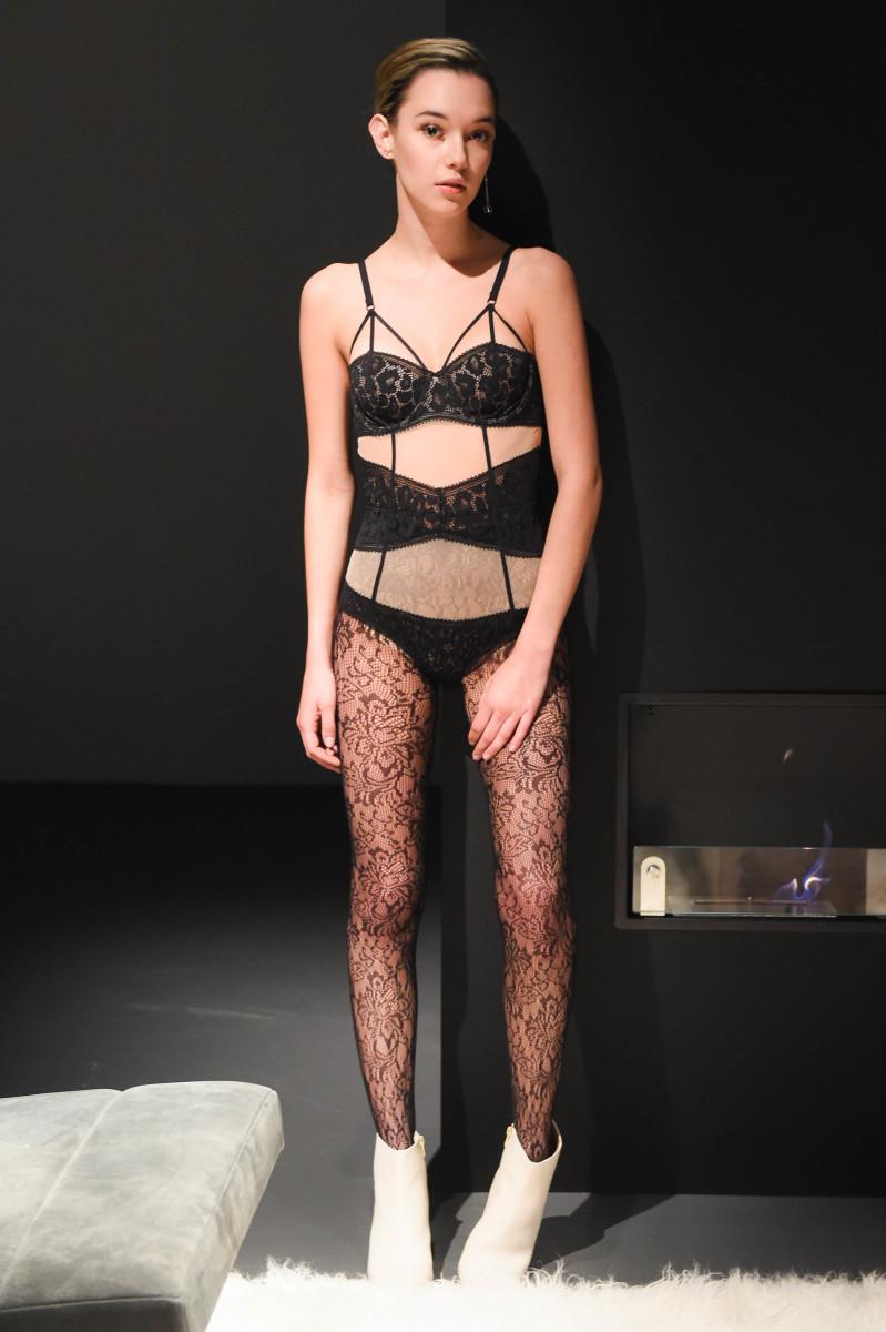 Sarah Snyder at the Calvin Klein fall 2016 presentation. Photo: BFA