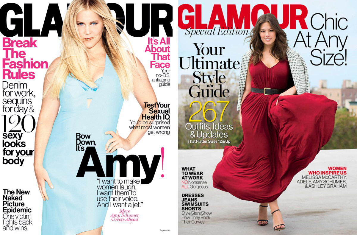 should celebrities call out magazines on social media fashionista amy schumer who appeared on glamour in 2015 didn t