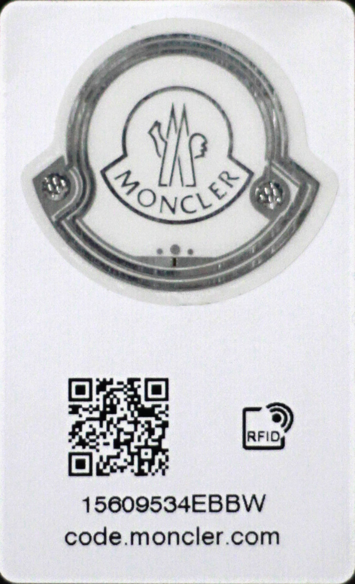 Moncler is now including RFID tags in all of its goods, allowing customers to verify the authenticity of their purchases. Photo: Moncler