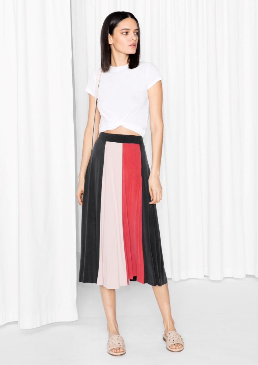& Other Stories Cupro Skirt, $85, available at & Other Stories.