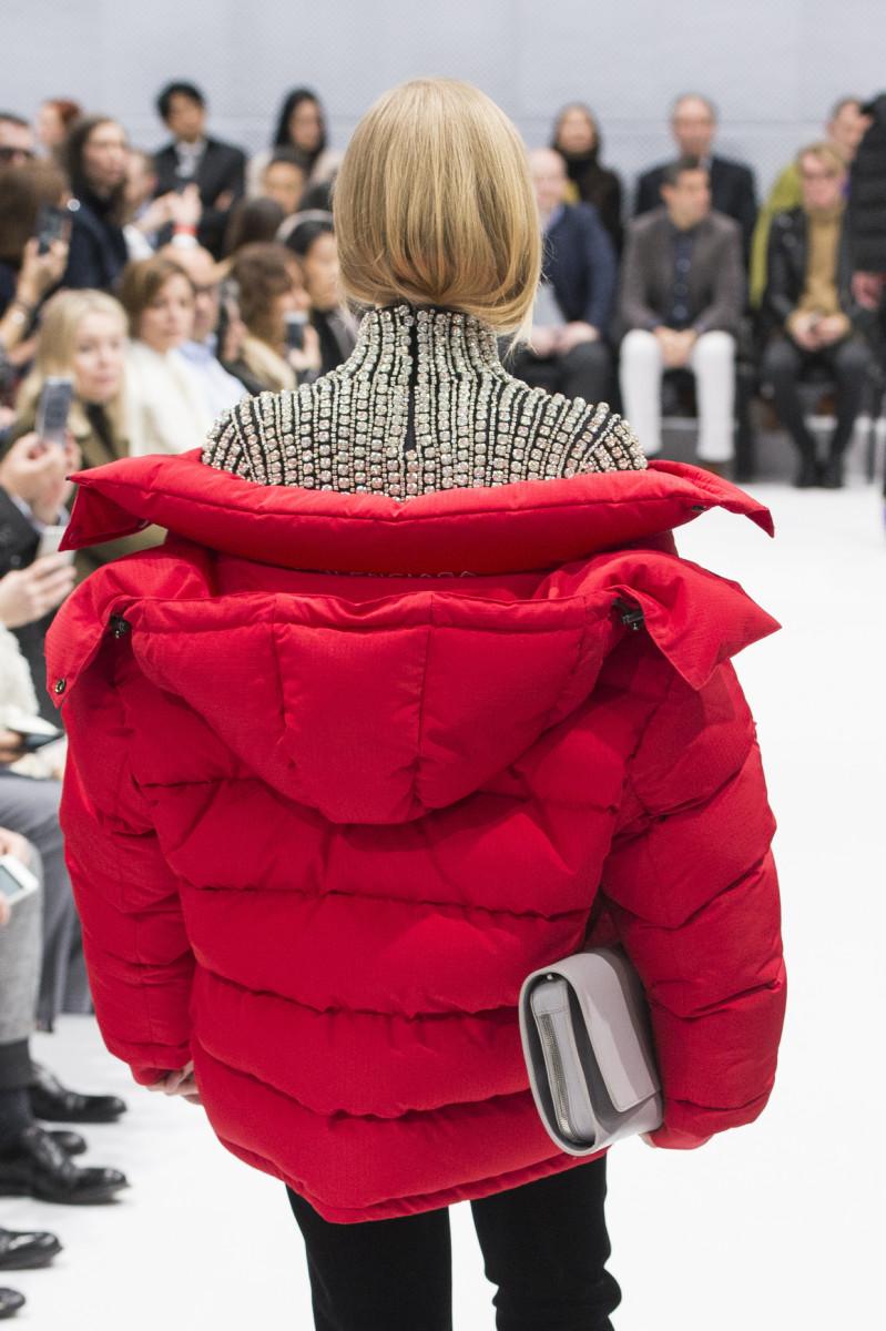 Balenciaga's fall 2016 runway show. Photo: Imaxtree