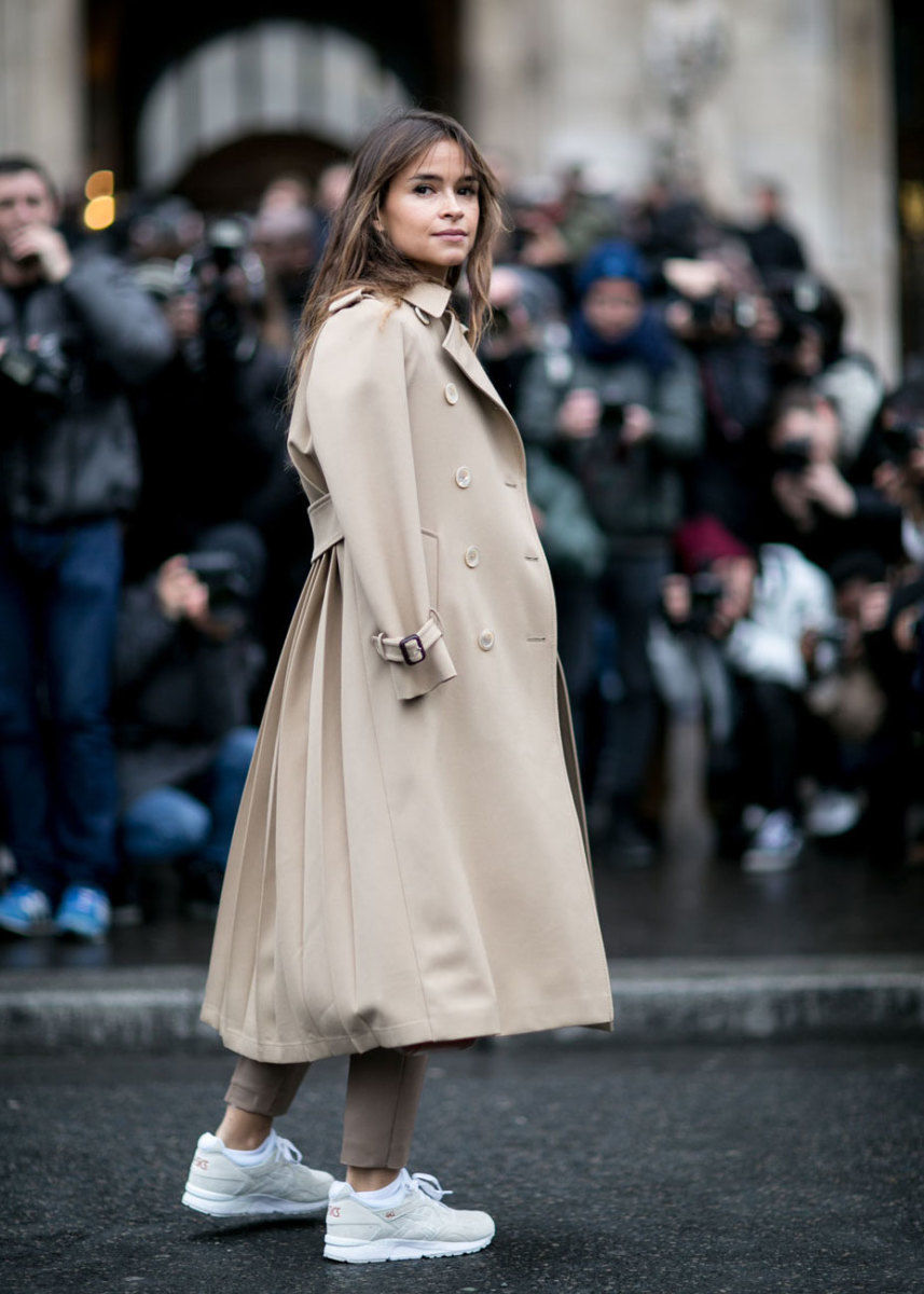 Miroslava Duma at Paris Fashion Week. Photo: Imaxtree