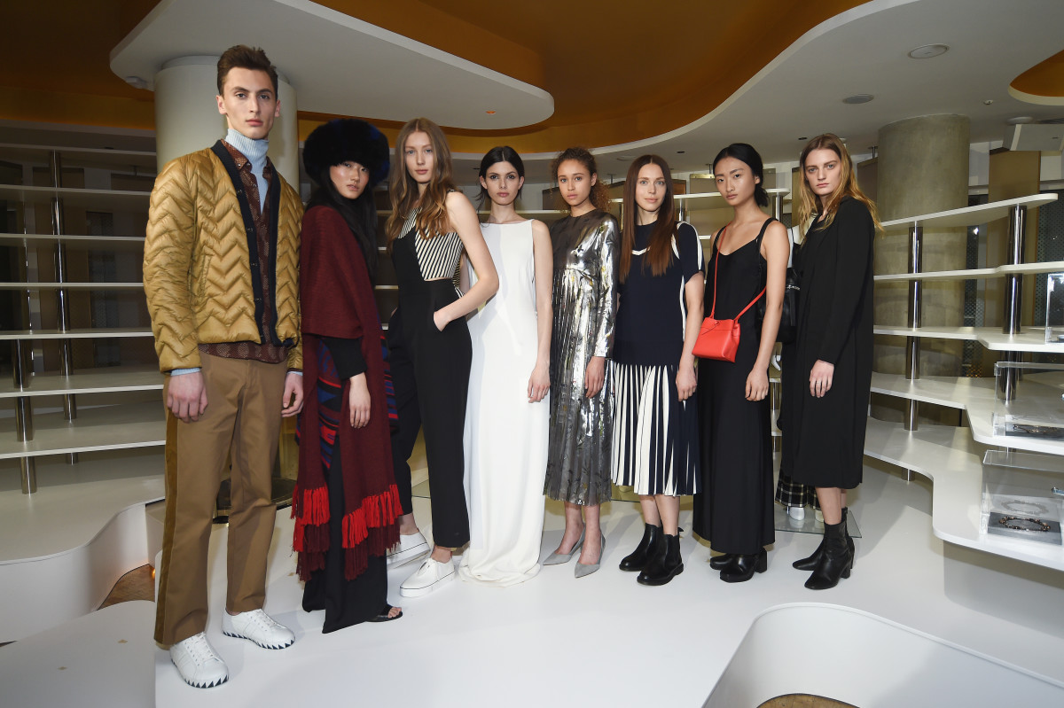 Models at the W Hotel showcase. Photo: W Hotel