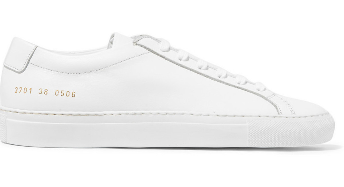 Common Projects sneakers, $410, available at Net-a-Porter.